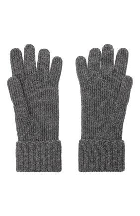 Мужские кашемировые перчатки JOHNSTONS OF ELGIN темно-серого цвета, арт. HAE02638 | Фото 2