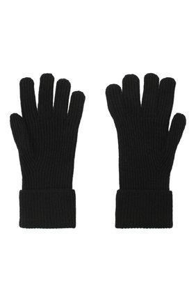 Мужские кашемировые перчатки JOHNSTONS OF ELGIN черного цвета, арт. HAE02638 | Фото 2 (Материал: Шерсть, Кашемир; Кросс-КТ: Трикотаж)