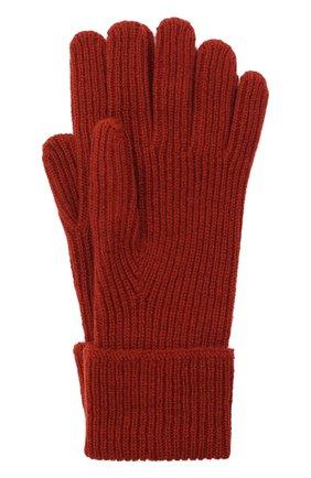 Мужские кашемировые перчатки JOHNSTONS OF ELGIN бордового цвета, арт. HAE02638 | Фото 1