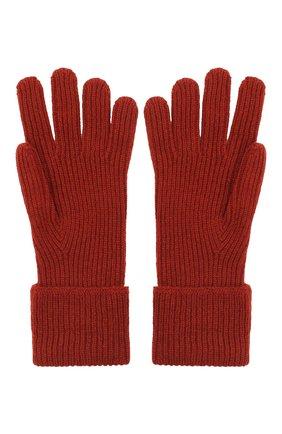 Мужские кашемировые перчатки JOHNSTONS OF ELGIN бордового цвета, арт. HAE02638 | Фото 2