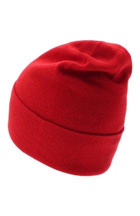 Мужская кашемировая шапка JOHNSTONS OF ELGIN красного цвета, арт. HAE02655 | Фото 2 (Материал: Кашемир, Шерсть; Кросс-КТ: Трикотаж)