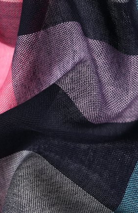 Мужской шерстяной шарф JOHNSTONS OF ELGIN разноцветного цвета, арт. WD001093 | Фото 2
