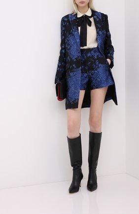 Женское пальто VALENTINO синего цвета, арт. UB3CA5605QM | Фото 2