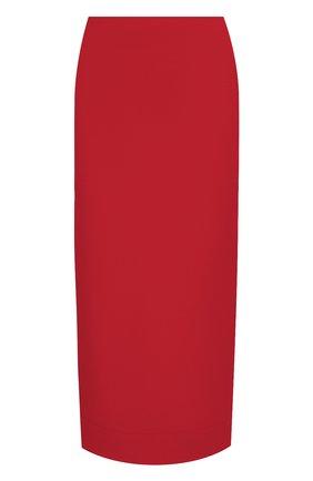 Женская юбка VALENTINO красного цвета, арт. UB3RA6B51CF | Фото 1