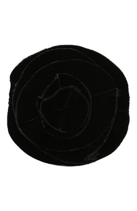 брошь GIORGIO ARMANI черного цвета, арт. 61M420/0A040 | Фото 1