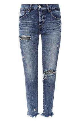Женские джинсы MOUSSY голубого цвета, арт. 025DSC12-2160 | Фото 1