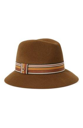 Женская фетровая шляпа ingrid LORO PIANA коричневого цвета, арт. FAI7947 | Фото 1