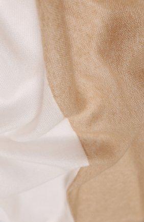 Мужские шарф из кашемира и шелка LORO PIANA бежевого цвета, арт. FAL2380 | Фото 2