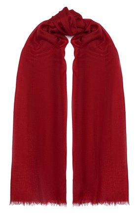 Мужские кашемировый шарф scairpa LORO PIANA бордового цвета, арт. FAL3045 | Фото 1