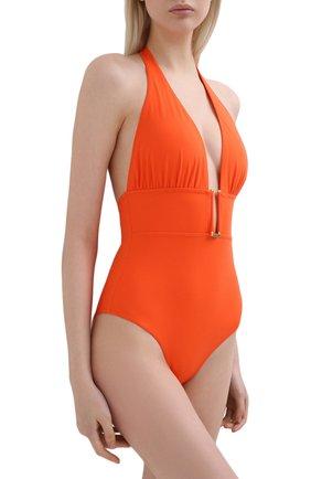 Женский слитный купальник I.D. SARRIERI оранжевого цвета, арт. BW31348 | Фото 2