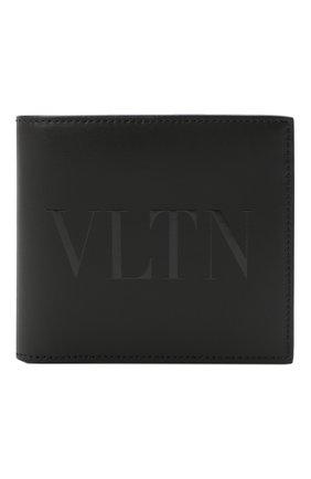 Мужской кожаное портмоне valentino garavani VALENTINO черного цвета, арт. UY2P0654/VNA | Фото 1