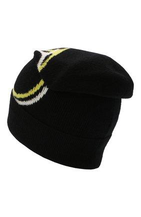 Мужская шапка из шерсти и кашемира valentino garavani VALENTINO черного цвета, арт. UY2HB00P/WBK | Фото 2