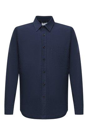 Мужская куртка-рубашка ASPESI синего цвета, арт. W0 I 0I16 9972 | Фото 1