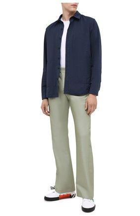 Мужская куртка-рубашка ASPESI синего цвета, арт. W0 I 0I16 9972 | Фото 2