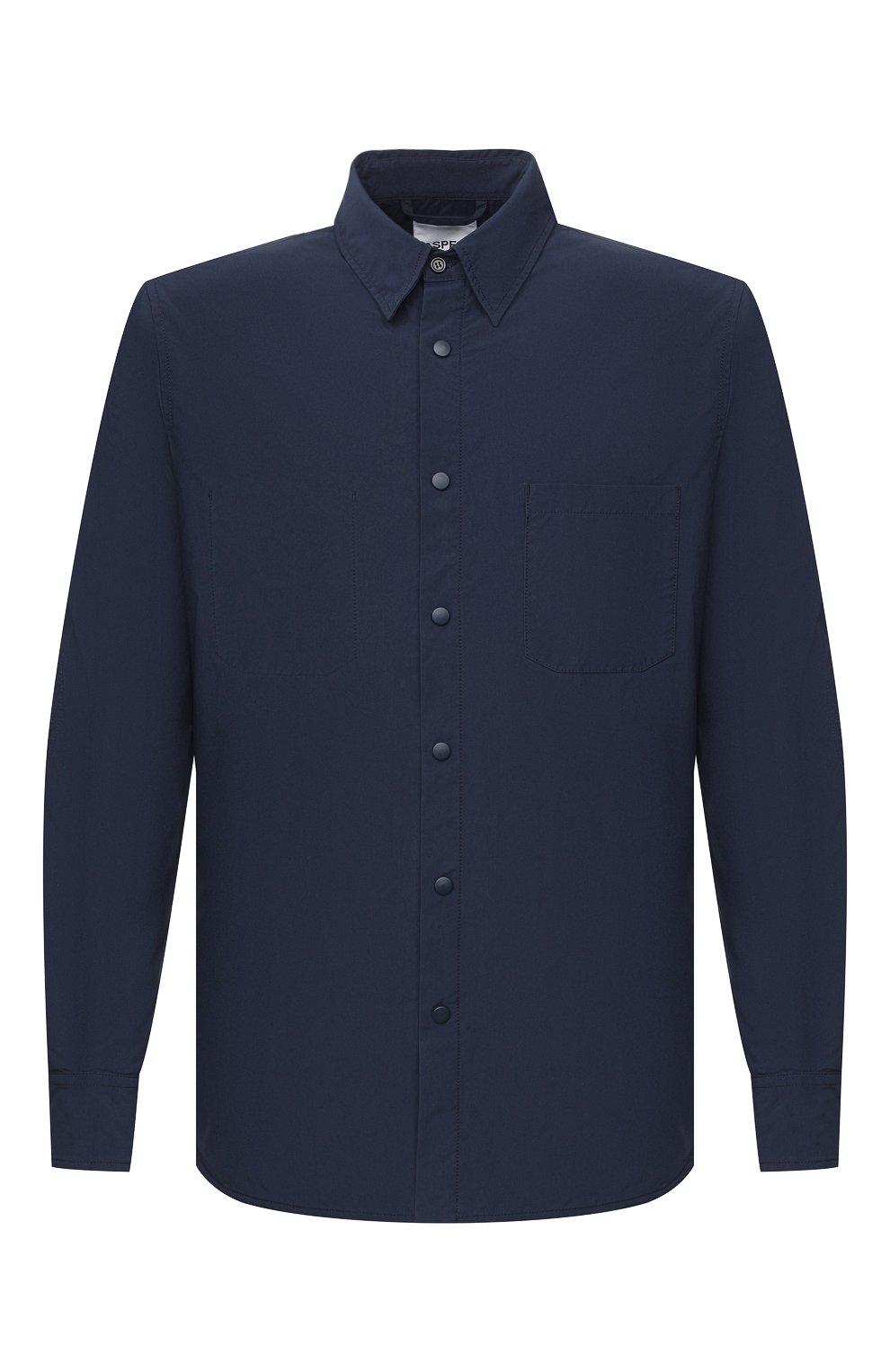 Мужская куртка-рубашка ASPESI синего цвета, арт. W0 I 7I29 9972 | Фото 1
