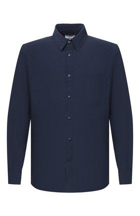 Мужская куртка-рубашка ASPESI синего цвета, арт. W0 I 7I29 9972   Фото 1