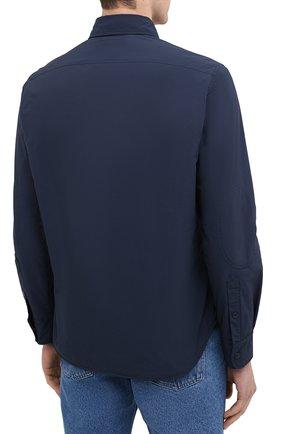 Мужская куртка-рубашка ASPESI синего цвета, арт. W0 I 7I29 9972 | Фото 4