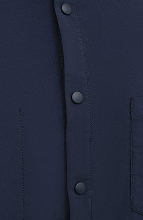 Мужская куртка-рубашка ASPESI синего цвета, арт. W0 I 7I29 9972 | Фото 5