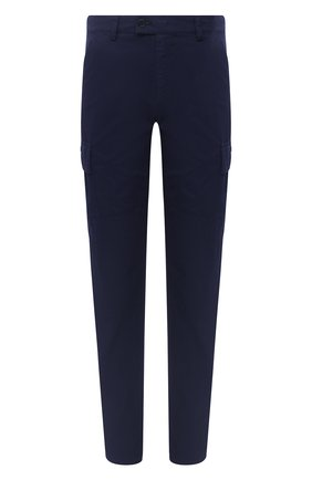 Мужские хлопковые брюки-карго ASPESI темно-синего цвета, арт. W0 A CP31 E031 | Фото 1