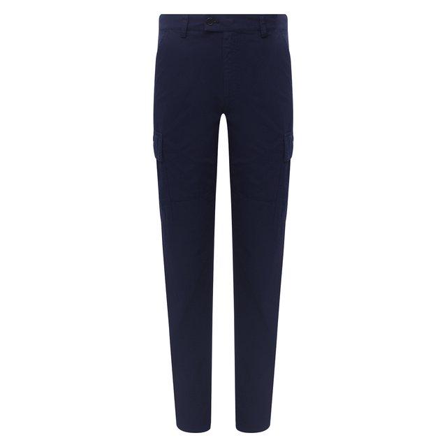 Хлопковые брюки-карго Aspesi