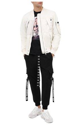 Мужская хлопковая футболка LIMITATO черного цвета, арт. FRECKLES/T-SHIRT REGULAR | Фото 2