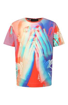 Мужская хлопковая футболка LIMITATO разноцветного цвета, арт. L00K BACK/T-SHIRT RELAX | Фото 1