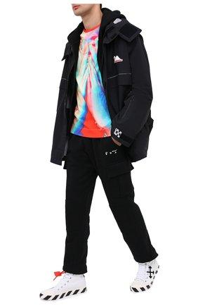 Мужская хлопковая футболка LIMITATO разноцветного цвета, арт. L00K BACK/T-SHIRT RELAX | Фото 2