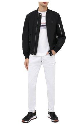 Мужская хлопковая футболка LIMITATO белого цвета, арт. LAY 0VER/T-SHIRT REGULAR | Фото 2