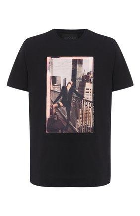 Мужская хлопковая футболка LIMITATO черного цвета, арт. SAINT/T-SHIRT RELAX | Фото 1