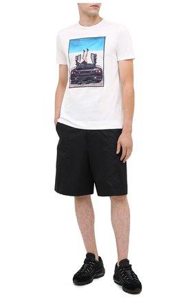 Мужская хлопковая футболка LIMITATO белого цвета, арт. HIGH HEELS/T-SHIRT REGULAR | Фото 2