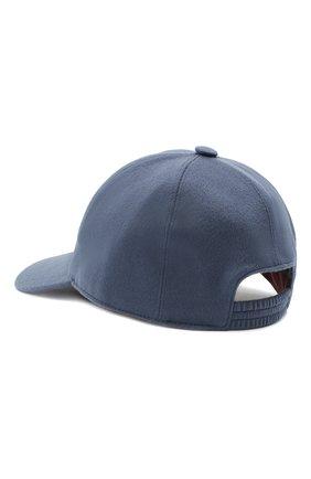 Мужской кашемировая бейсболка LORO PIANA синего цвета, арт. FAF8520 | Фото 2