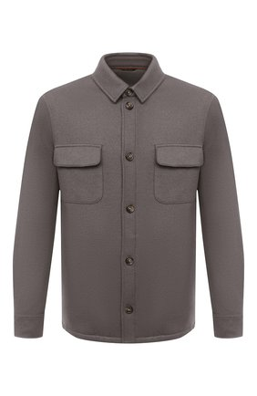 Мужская кашемировая куртка LORO PIANA темно-бежевого цвета, арт. FAL3156 | Фото 1