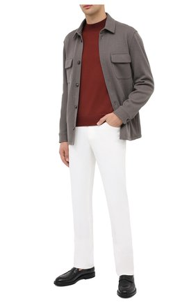 Мужская кашемировая куртка LORO PIANA темно-бежевого цвета, арт. FAL3156 | Фото 2