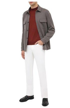 Мужская кашемировая куртка LORO PIANA серого цвета, арт. FAL3156 | Фото 2