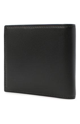 Мужской кожаное портмоне ALEXANDER MCQUEEN черного цвета, арт. 602139/1SJ7B | Фото 2