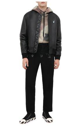 Мужские джинсы OFF-WHITE черного цвета, арт. 0MYA082E20DEN0021001 | Фото 2