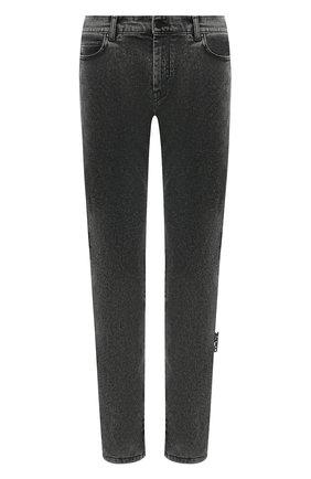 Мужские джинсы OFF-WHITE серого цвета, арт. 0MYA074E20DEN0020910 | Фото 1