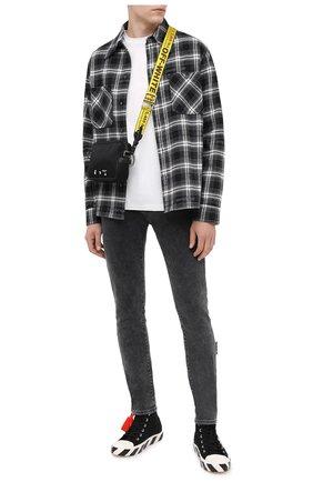 Мужские джинсы OFF-WHITE серого цвета, арт. 0MYA074E20DEN0020910 | Фото 2