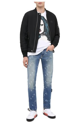 Мужские джинсы OFF-WHITE синего цвета, арт. 0MYA011E20DEN0044901 | Фото 2