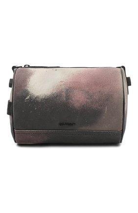 Мужская текстильная сумка OFF-WHITE хаки цвета, арт. 0MNA112E20FAB0026000 | Фото 1