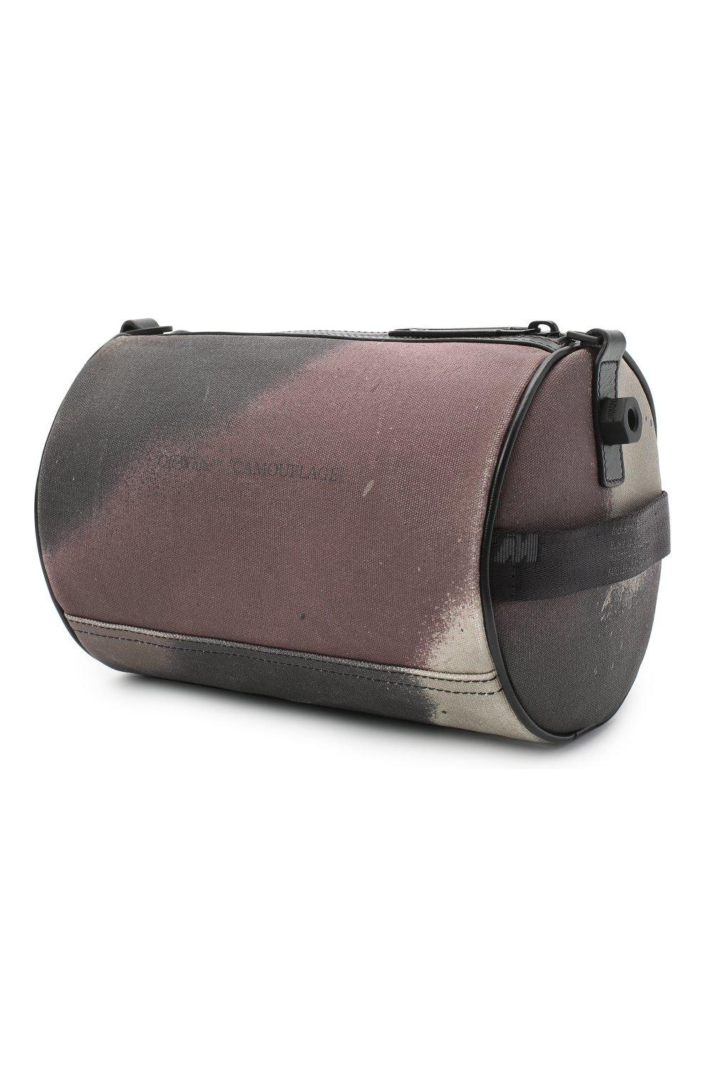 Мужская текстильная сумка OFF-WHITE хаки цвета, арт. 0MNA112E20FAB0026000 | Фото 3