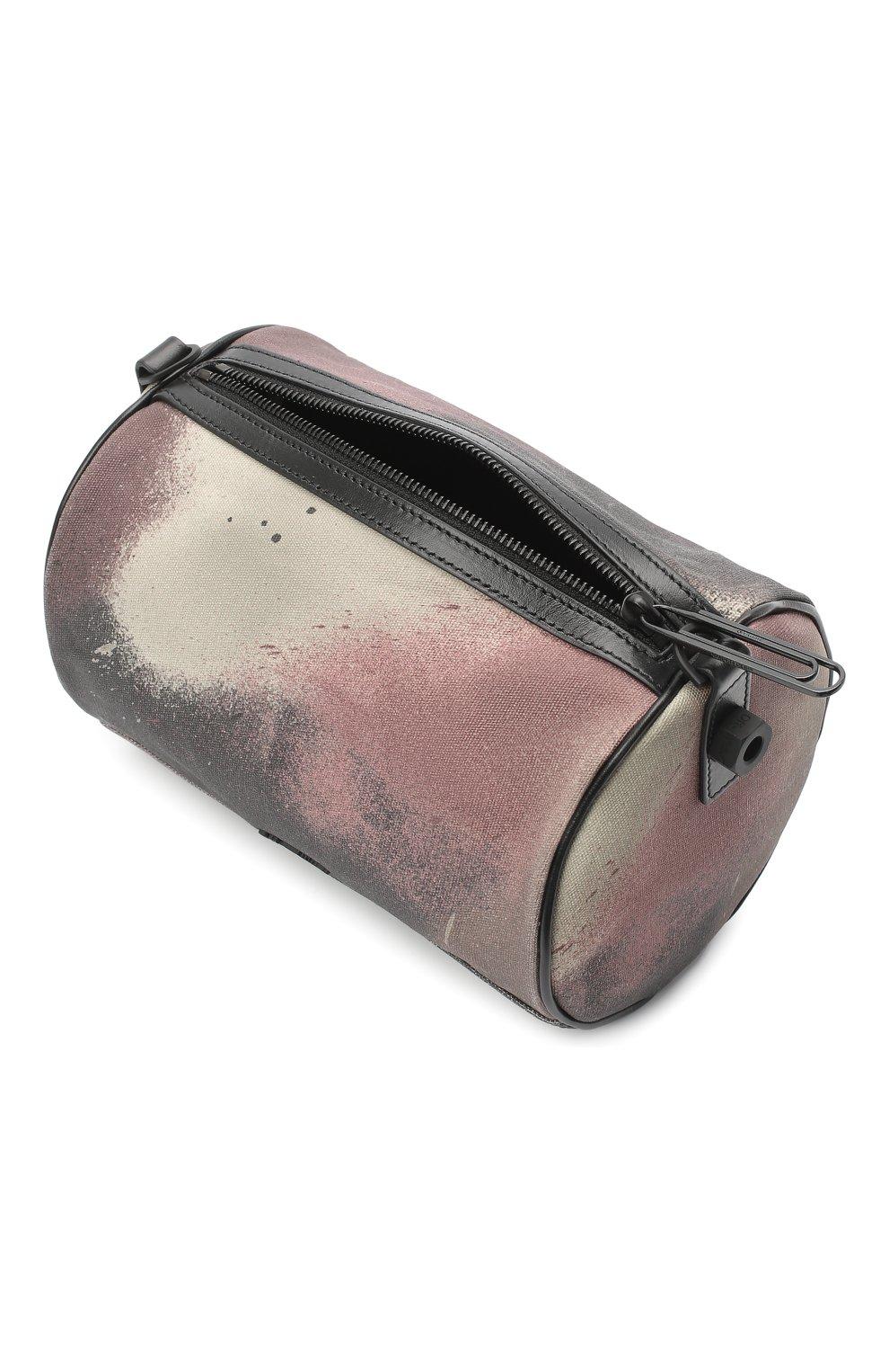 Мужская текстильная сумка OFF-WHITE хаки цвета, арт. 0MNA112E20FAB0026000 | Фото 4