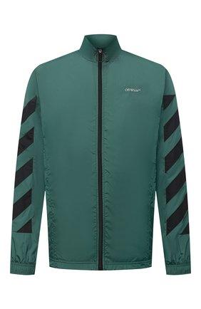 Мужская куртка OFF-WHITE зеленого цвета, арт. 0MEA233E20FAB0025701 | Фото 1