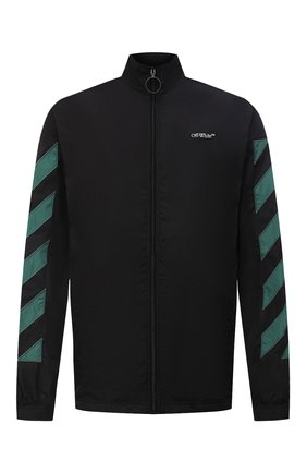 Мужская куртка OFF-WHITE черного цвета, арт. 0MEA233E20FAB0021001 | Фото 1