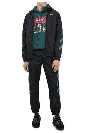 Мужская куртка OFF-WHITE черного цвета, арт. 0MEA233E20FAB0021001 | Фото 2