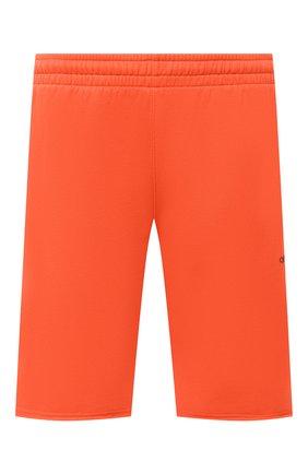 Мужские хлопковые шорты OFF-WHITE оранжевого цвета, арт. 0MCI006E20FLE0012010 | Фото 1
