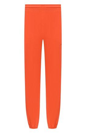Мужской хлопковые джоггеры OFF-WHITE оранжевого цвета, арт. 0MCH030E20FLE0022010 | Фото 1