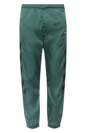 Мужской джоггеры OFF-WHITE зеленого цвета, арт. 0MCA086E20FAB0025701 | Фото 1