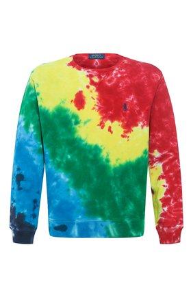 Мужской хлопковый свитшот POLO RALPH LAUREN разноцветного цвета, арт. 710800107 | Фото 1