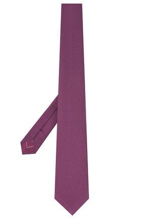 Мужской шелковый галстук BRIONI фиолетового цвета, арт. 061D00/09459 | Фото 2